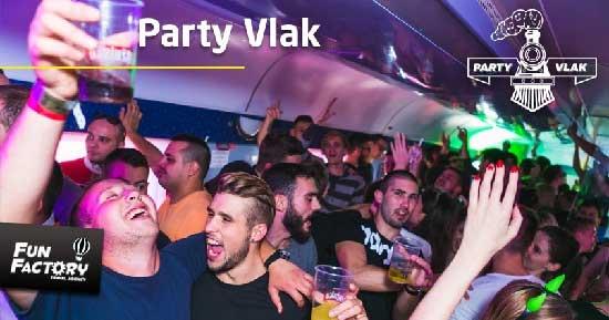 Party Vlak - Zagreb- Beograd s cashless plaćanjem