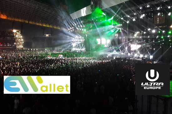 eWallet Event ponovno na ULTRA Europe festival 2017